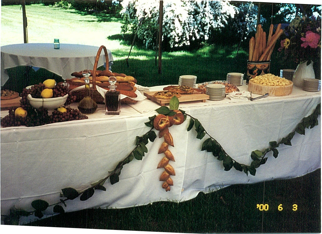 Tuscan Feast Table